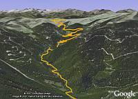 Tour de France 2007 in Google Earth