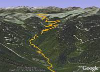 Tour de France 2007 in Google Earth