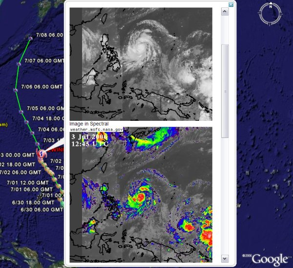 Best Storm Tracking and Weather Tools for Google Earth