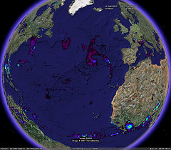 Quasi-global Near real-time Rainfall in Google Earth - Google Earth Blog