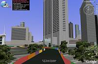 Sinapore F1 Race in Google Earth