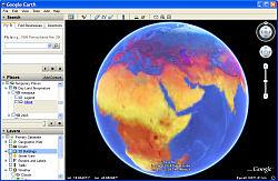 GE Screenshot - Annual Temperatures