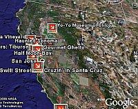 Turn Here in Google Earth