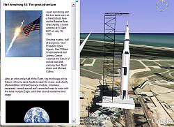 Neil Armstrong in Google Earth