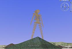 Burning Man in Google Earth