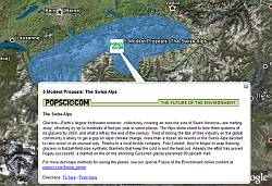 Popular Science Environmental layer in Google Earth