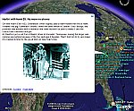 Hank Williams Biography in Google Earth
