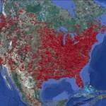 Visualizing the ZeroAccess botnet in Google Earth