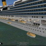 The Costa Concordia 3D tour is now stunningly realistic