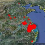 Tracking the spread of the H7N9 avian flu in Google Earth