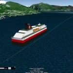 Tracking the Hurtigruten along the coast of Norway