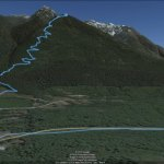 Using the track feature in Google Earth 5.2