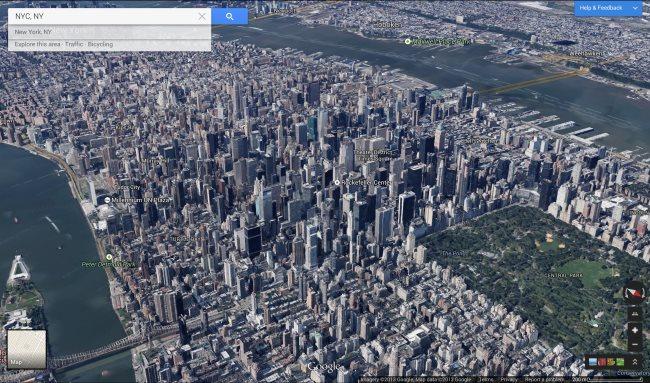 nyc maps