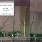 Measuring distances with the Google Earth Ruler