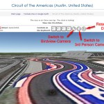 Nice new enhancements to the Formula One Google Earth game