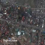 Imagery from Typhoon Haiyan