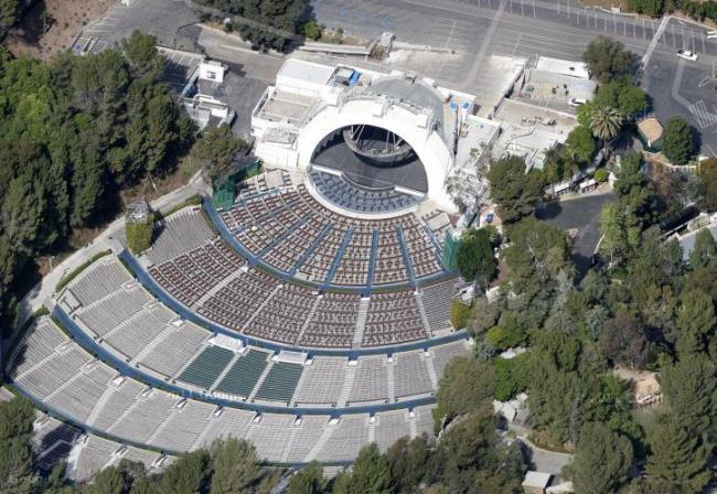 Hollywood Bowl amphitheatre