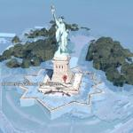 Using Google Earth to predict sea level rise