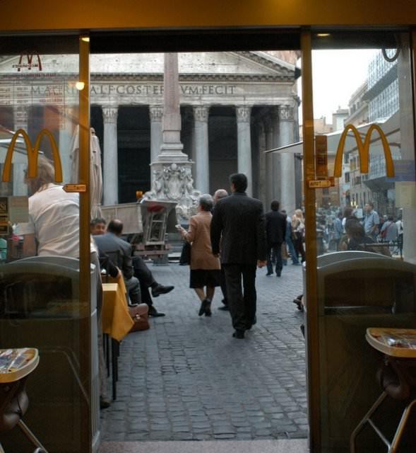 mcdonald's pantheon