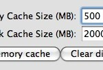 How the Google Earth cache works