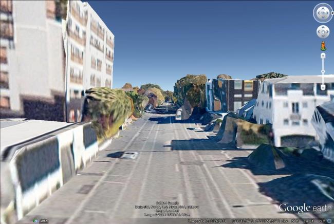 christchurch 3d street level