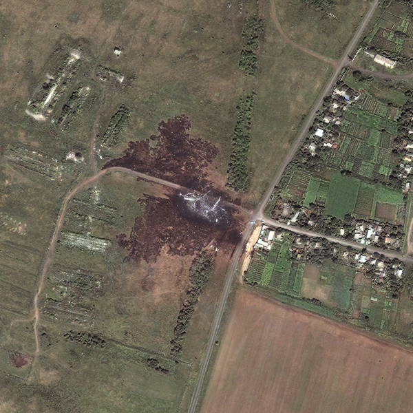 MH17 DigitalGlobe