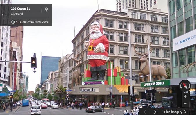 Santa Claus, Auckland