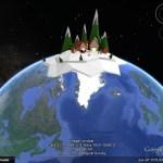 Santa's village on Google Earth