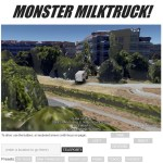 Google Earth plugin showcase: Monster Milktruck