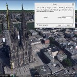 Measuring in Google Earth Pro