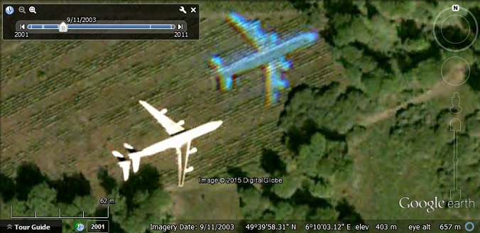 Planes in flight and the rainbow effect - Google Earth Blog on google satellite live camera, facebook airplane, mapquest by airplane, apple maps airplane, google earth airplane, google airplane simulator, sketchup airplane,