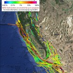California fault lines and earthquake probabilities