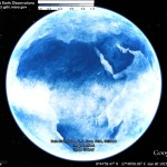 Average Cloud Cover Map and Map Projections