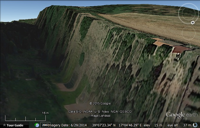 Google gets altitude wrong and drowns a city - Google Earth Blog