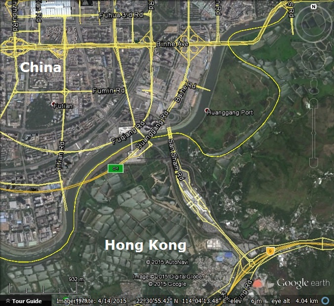 Chinese street maps out of alignment in Google Earth and Google Maps on