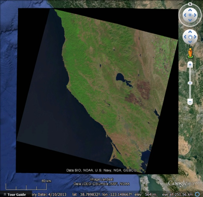 Tracking wild fires in Google Earth - Google Earth Blog