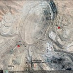 Seeing imperfect orthorectifcation in Google Earth imagery