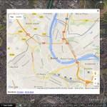 Google Maps in Google Earth