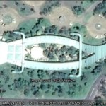 Animal shaped buildings in Google Earth