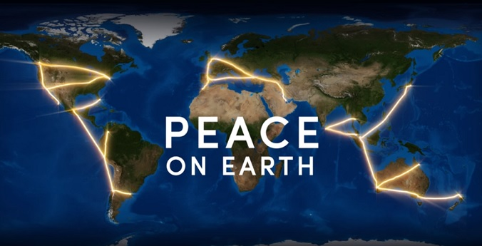PEACE On Earth Message Using GPS Google Earth Blog