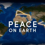 PEACE on Earth message using GPS