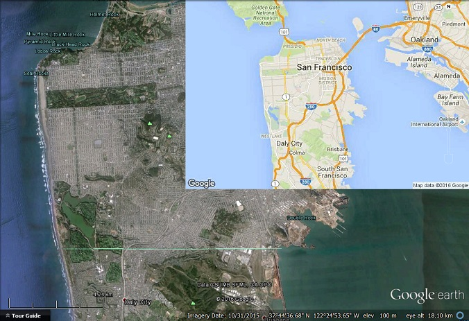 A Google Map Image Overlay in Google Earth - Google Earth Blog