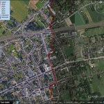 Caching Google Earth imagery with path tours