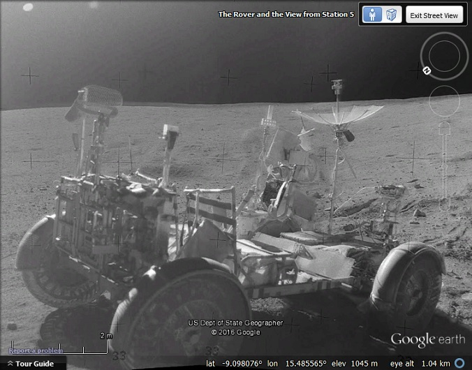 Street View portals to Mars, the Moon and Atlantis - Google Earth Blog