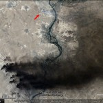 The fires of Qayyara, Iraq, with Landsat and Sentinel imagery