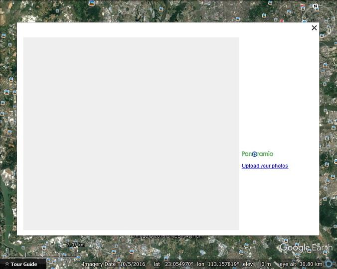 """[résolu] Avec LINUX, non affichage des contenus """"panoramio"""" dans Google Earth Panoramio"""
