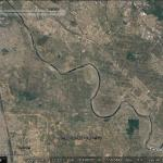 Villagers in India losing land to a changing river
