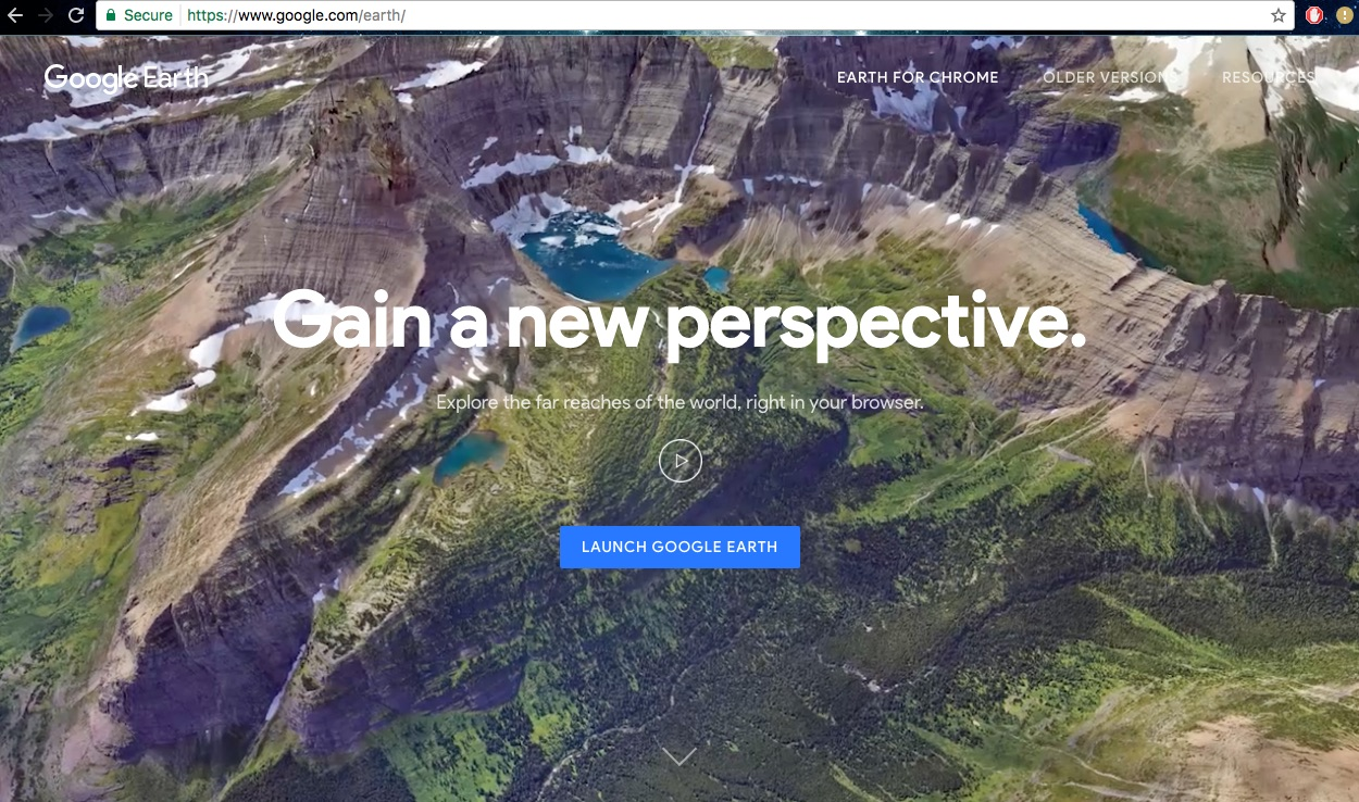 New Google Earth Web Version Available Now - Google Earth Blog
