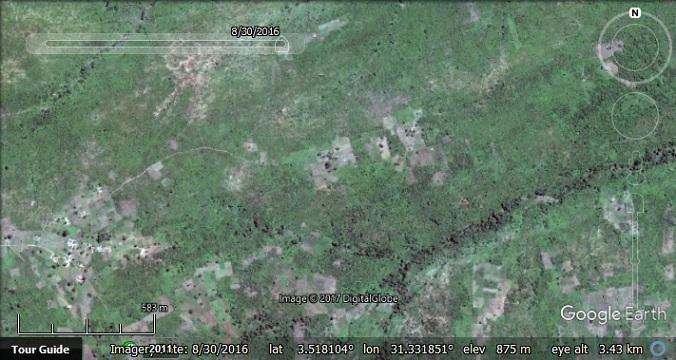 Bidi Bidi Refugee Settlement in Google Earth - Google Earth Blog