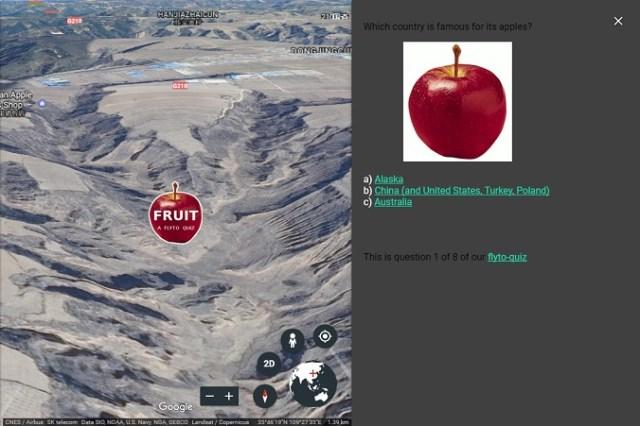 FlytoQuiz1 Google Earth Quiz Maker   Google Earth Blog